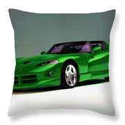 Engines At Work Throw Pillow