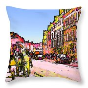 England 1986 Oxford Street Snapshot0145a2 Jgibney The Museum Zazzle Gifts Throw Pillow