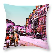 England 1986 Oxford Street Snapshot0145a3 Jgibney The Museum Zazzle Gifts Throw Pillow