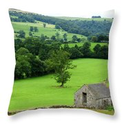 Englands Green And Pleasant Land Throw Pillow