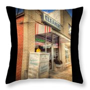 Englewood Cleaners 4540 Throw Pillow