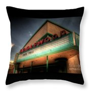 Englewood Theater 4507 Throw Pillow