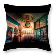 Englewood Theater 4597 Throw Pillow