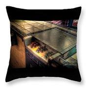 Englewoodgrill4609-10-11 Throw Pillow