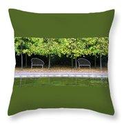 English Autumn Throw Pillow