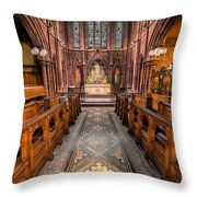 English Church 2 Throw Pillow