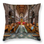 English Church Throw Pillow