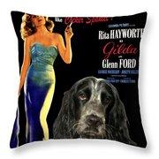 English Cocker Spaniel Art - Gilda Throw Pillow