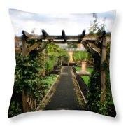 English Country Gardens - Series IIi Throw Pillow