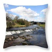 English Fjord Throw Pillow