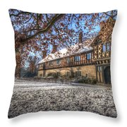 English In Germany Throw Pillow