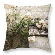 English Roses II Throw Pillow