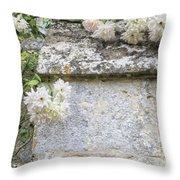 English Roses Vi Throw Pillow