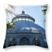 Enid A.haupt Conservatory Throw Pillow