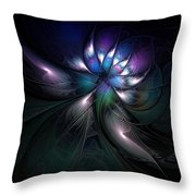 Enigma Throw Pillow by Amanda Moore
