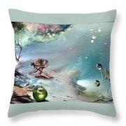 Enigma Throw Pillow