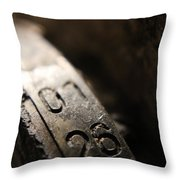 Enigma Numbers Throw Pillow