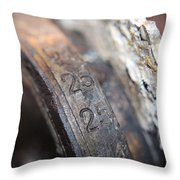 Enigma Rotor Throw Pillow