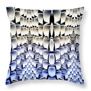 Lost In The Matrix Throw Pillow