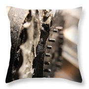 Enigma Wheel Throw Pillow