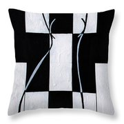 Enigmatic  Throw Pillow