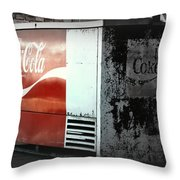 Enjoy Coca Cola  Throw Pillow