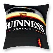 Enjoy Guinness Throw Pillow