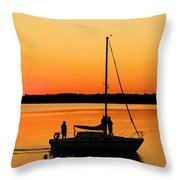 Enjoy The Moment 02 Throw Pillow