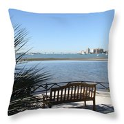 Enjoy The View Throw Pillow