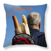 Enjoy Your Breakfast Throw Pillow