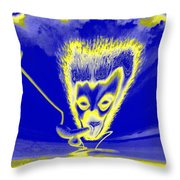 Enlightened Communication Throw Pillow
