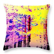 Enlightened Woods Are Here Again Ready To Surprise You  Throw Pillow