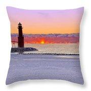 Enlightening Throw Pillow