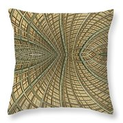Enmeshed Throw Pillow