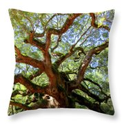 Entangled Beauty Throw Pillow