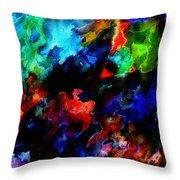 Entangled Colour Throw Pillow