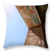 Enter The Ancient Throw Pillow