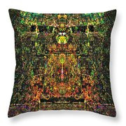 Enter The Darkside Throw Pillow