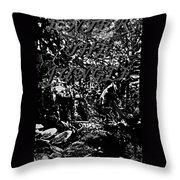 Enter The Jungle Throw Pillow