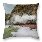 Entering Cascade Canyon Throw Pillow