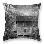 Entering Mingus Mill Throw Pillow