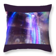 Enterprise Approaching Throw Pillow by Martin Howard