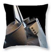 Enterprise At Udvar Hazy Throw Pillow