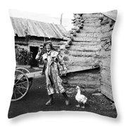 Entertainer, 1901 Throw Pillow