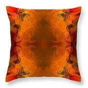 Entertaining Energy Abstract Pattern Artwork By Omaste Witkowski Throw Pillow