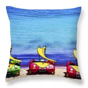 Three's Fun Throw Pillow