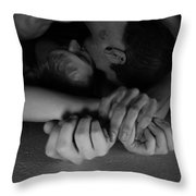 Enticement Or Entrapment Throw Pillow