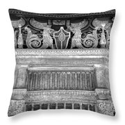 Entrance To Classic Movies Throw Pillow