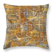 Entropia Throw Pillow