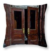 Entry - Burlington Place - Omaha Throw Pillow
